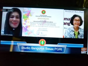Badan Khusus Perempuan PGRI Lampung Raih Juara Favorit Festival Imbauan Covid-19 PB PGRI