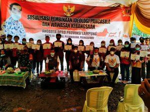 F.X. Siman Sosialisasi Ideologi Pancasila dan Wawasan Kebangsaan