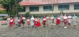 Toleransi SD Fransiskus Pringsewu dalam Perayaan Imlek 2572