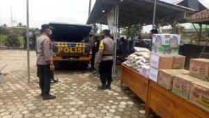 Bencana Puting Beliung Di Kecamatan Adiluwih, Kapolres Pringsewu Bentuk Dapur Umum
