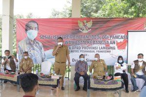 Ideologi Pancasila & Wawasan Kebangsaan Disosialisasikan di Wates Timur