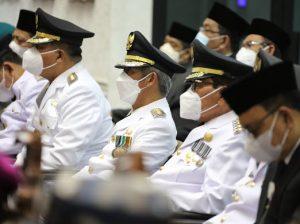 Bupati Pringsewu Hadiri Pelantikan Bupati & Wakil Bupati Pesisir Barat