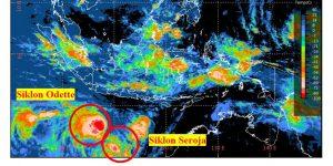 BMKG Ingatkan Masyarakat Waspada, Siklon Tropis Seroja dan Odette Sebabkan Gelombang Tinggi