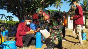 Mahasiswa STMIK Pringsewu Grudug Kampung Sendang Rejo Dan Sendang Agung