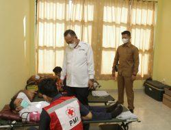 Ketua PMI Kabupaten Pringsewu Jadi Pembina Apel Hari Darah Se Dunia