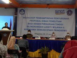 LLDIKTI Wilayah II Dan STMIK Pringsewu Adakan Workshop Hibah Penelitian