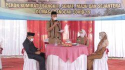 Bumiratu & Pringsewu Selatan Wakili Pringsewu di Lomba Desa & Kelurahan Tingkat Provinsi Lampung 2021