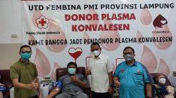 Dua Warga Pringsewu Donorkan Plasma Konvalesen