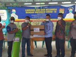 Pekerja Migrant Indonesia (PMI) Taiwan Prakarsai Bantuan Alat Kesehatan