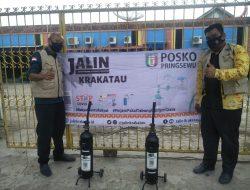 Jalin Krakatau Lampung Buka Posko Di STMIK Pringsewu PinjamTabung Oksigen Gratis