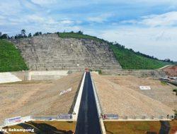 Diresmikan Presiden Jokowi Besok, Ini Manfaat Bendungan Way Sekampung di Pringsewu